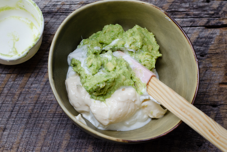 yogurt mayo avocado